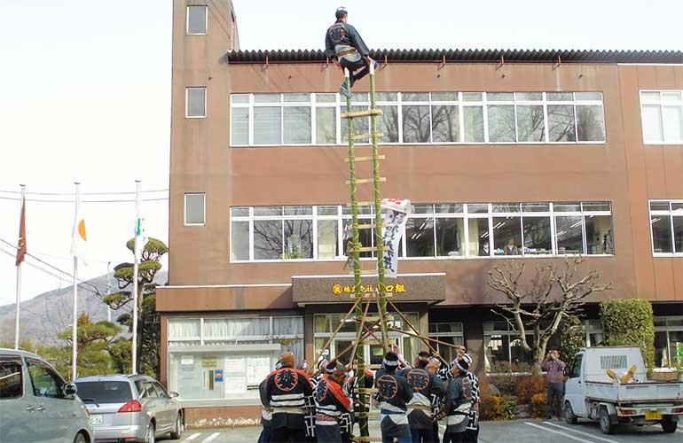梯子乗り1