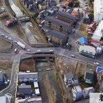 橋りょう整備工事仮橋設置工着手前